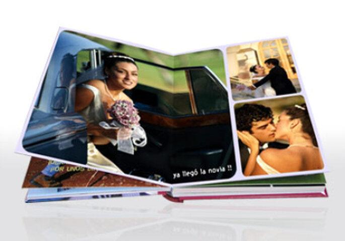 Álbum digital de fotos de boda de Hofmann