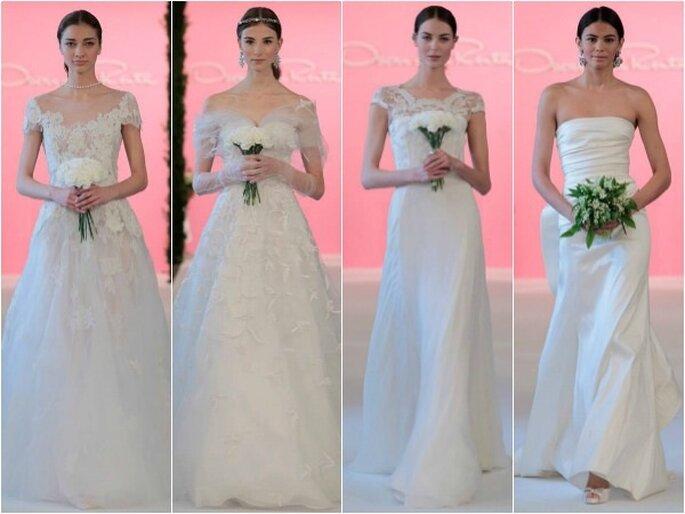 Oscar de la Renta, коллекция свадебных платьев 2015. Фото: соц. сети