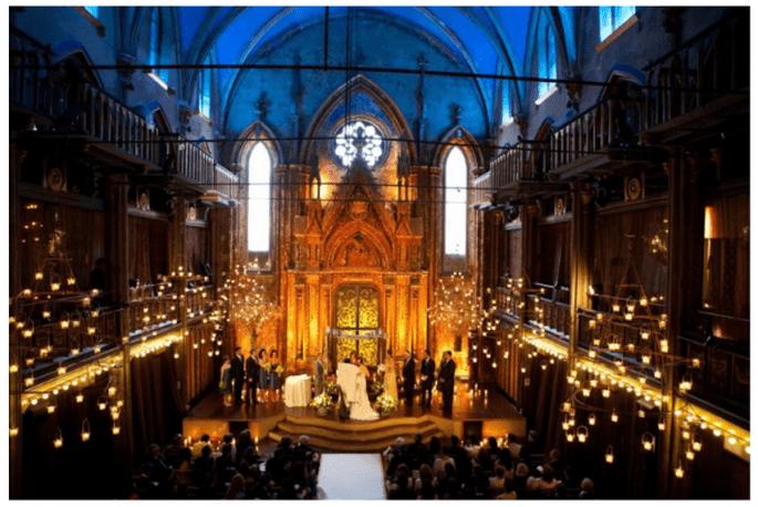 świeczki na weselu w dekoracjach