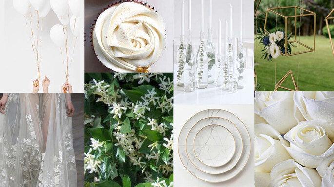 Ad Maiora Project - collage ispirazione wedding
