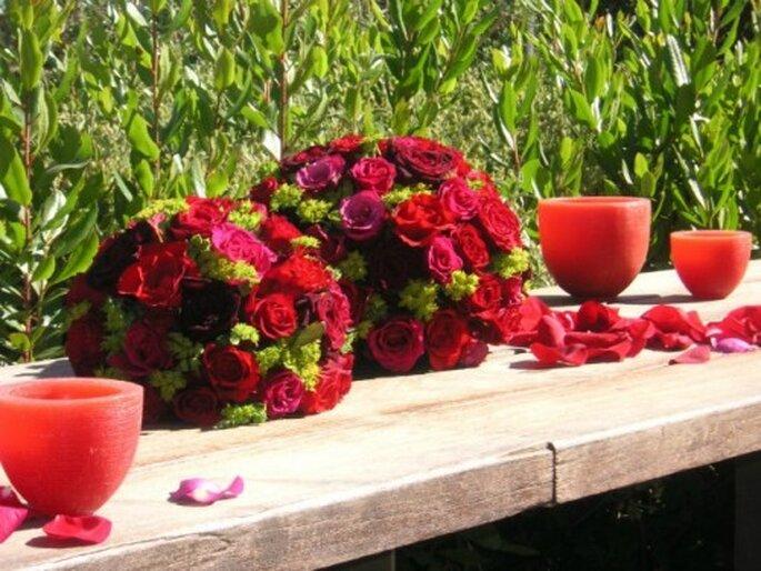 Pastel ou flashy, à vous de choisir les coloris de votre bouquet de mariée - Photo : Au nom de la rose