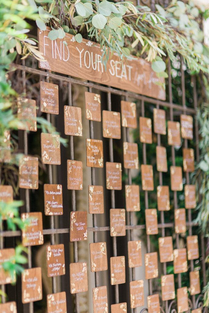 Ideas originales en seating charts - Honey Honey Photography