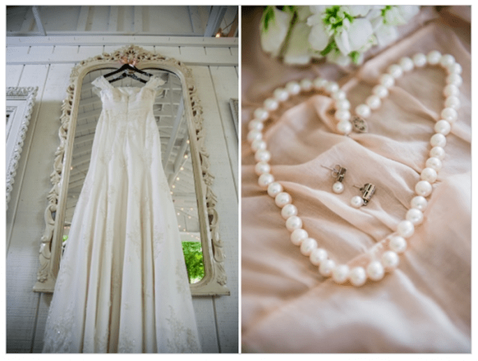 Real wedding style shabby chic avec détails élégants - Photo Ace Photography