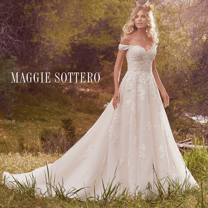 Saffron.  Maggie Sottero Frühling 2017.