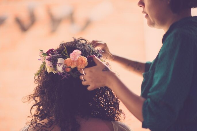 acessório de cabelo noiva