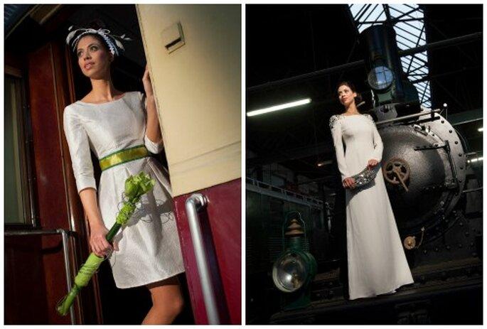 Ein Brautkleid, das zu Einem passt - Michele Weiten Design macht es möglich.