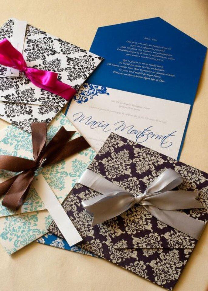Invitaciones de boda que le darán un toque de increíble originalidad - Foto Le Bomboniere Shope