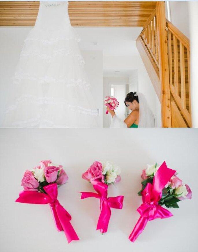 Ramos para novia. Foto de Nadia Meli.