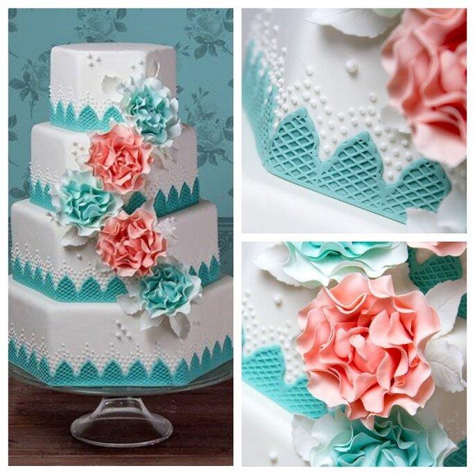 Свадебный торт 'Dreamland'. Фото: Dreams & Cakes