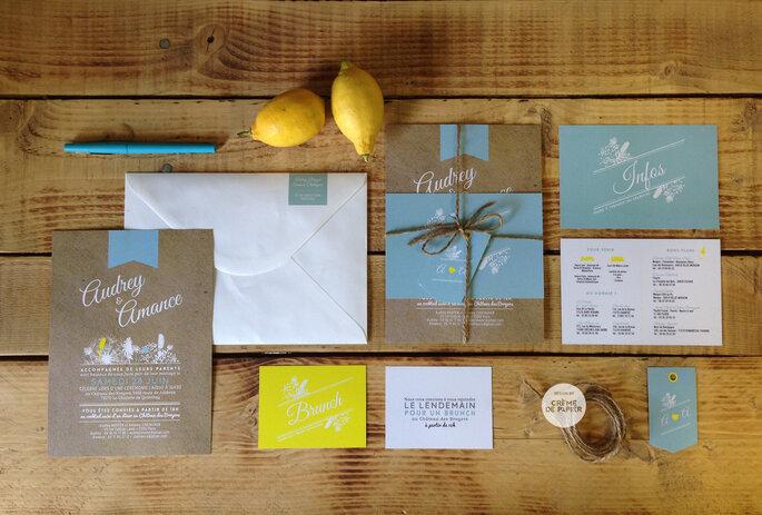 Einladungskarten- Foto Zankyou Flickr