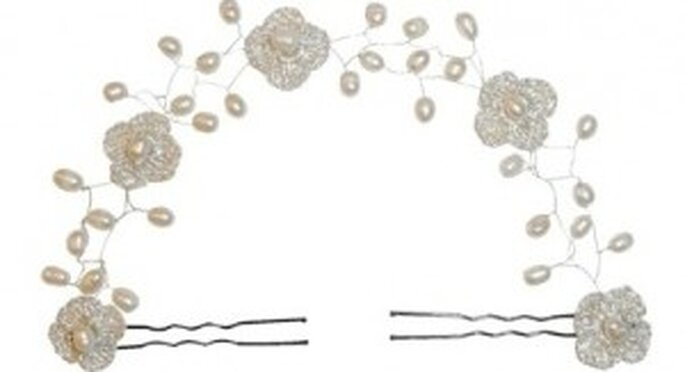 Accessoires pour coiffures de mariée Rosa Clará 2011 : couronne