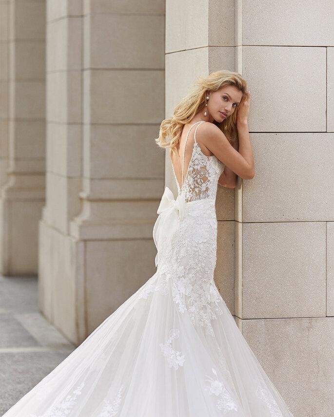 Vestidos de novia con espalda descubierta