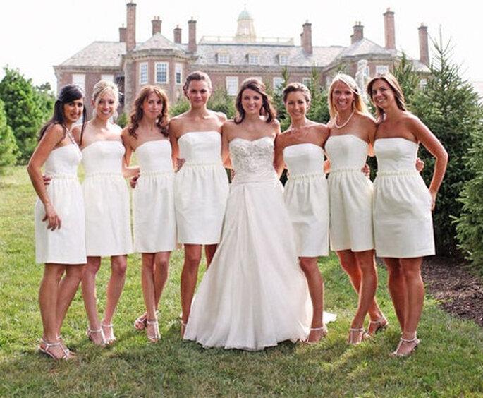 Vestidos para damas de honor de WhiteAzalea