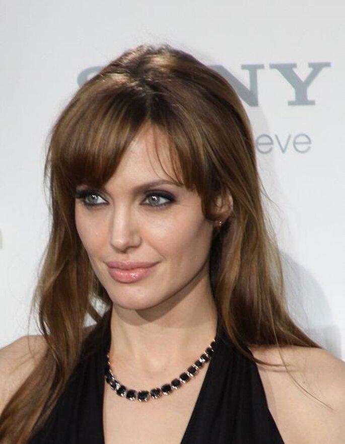L'attrice Angelina Jolie. Foto:.www.promiflash.de - Bitte bei Bildverwendung auch Link setzen. Wikimedia Commons
