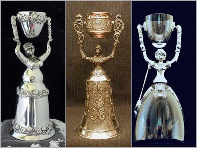 German Wedding Cups