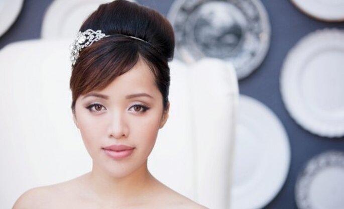 Maquillaje elegante para novias vintage - Foto Michelle Phan Facebook
