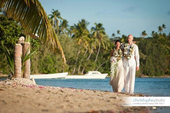 Mariage multiculturel : on donne le ton dans le faire-part ! - Photo : Christophe Viseux