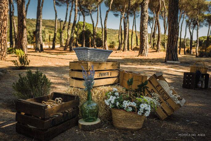 Sin hache y con be wedding planners Segovia