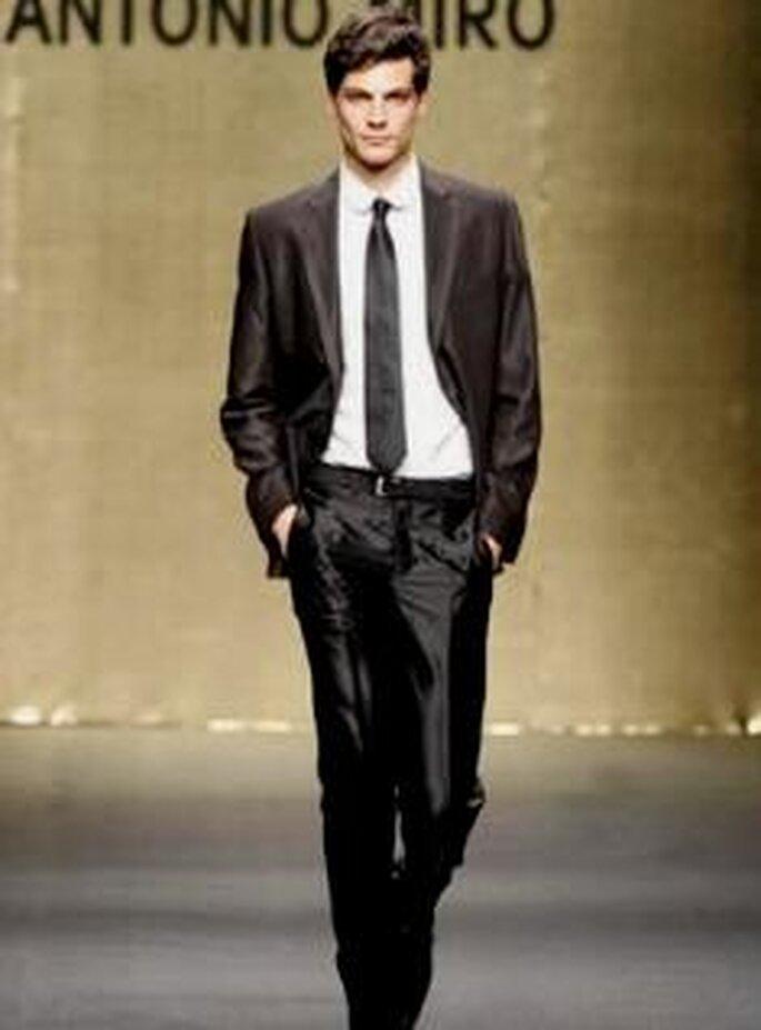 Antonio Miró 2009 - Traje de novio, americana y pantalón