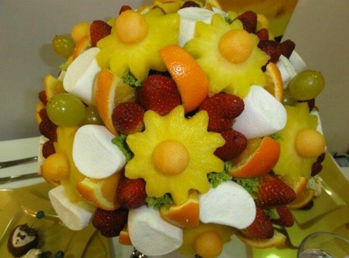 Frutas y masmelos       Foto de Enfrutados