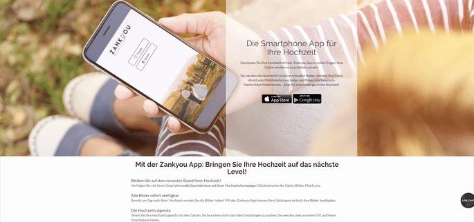 App iPhone   Android für Ihre Hochzeit