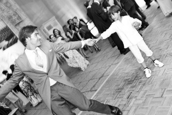 Manuel durante el baile-Foto: Adrián Tomadín