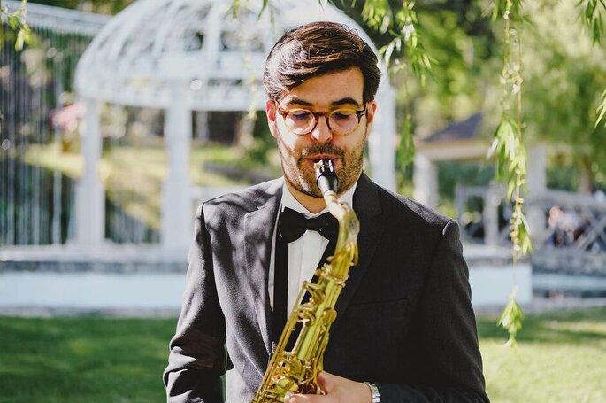 Serviço de saxofonista