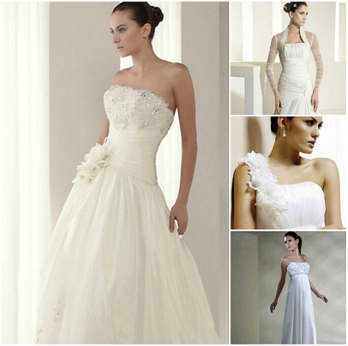 Vestidos de novia de alquiler de Boda 10, Dream Novia's, Just Novias y Línea Oro Innovia