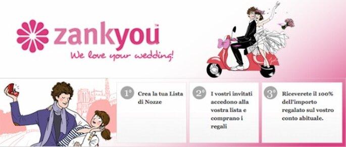 La lista nozze solidale che desideri con Zankyou