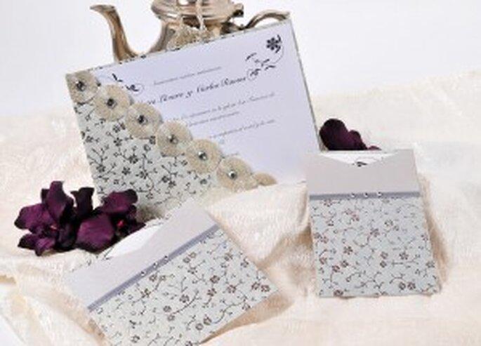 Azulsahara, invitaciones de boda originales - modelo Taj Mahal