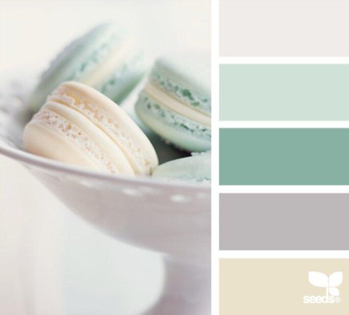 Mariage en hiver - Source : colorcollective