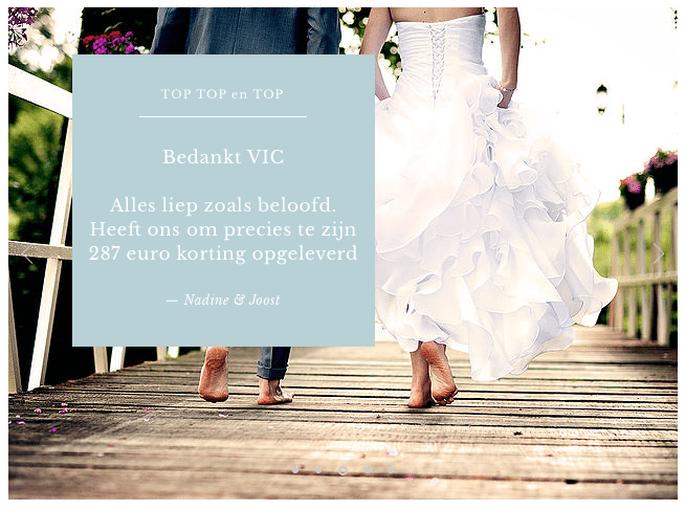 Klantenreview over VIC-Weddingcard. Foto: VIC-weddingcard