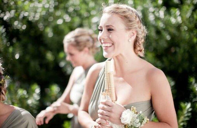 Peinados de bodas.Foto Nadia Meli.