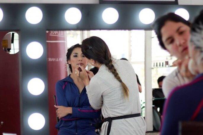Secretos del maquillaje y estilismo para novias - Foto cortesía de Maquillarte