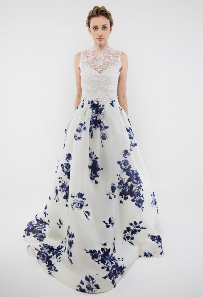 Vestidos de novia con estampados de flores - Foto Francesca Miranda