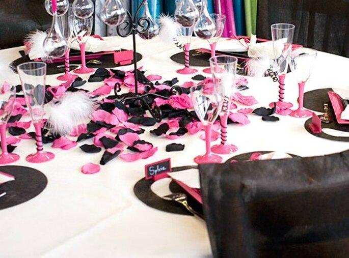Une décoration de table chic et pas cher, c'est possible ! - Source : Féezia