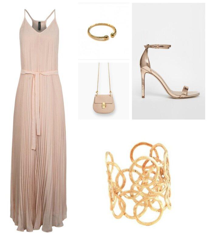 Robe : Nafnaf / Chaussures : Asos / Bracelet: Gas Bijoux / Bague : Gag et Lou / Sac : Chloé