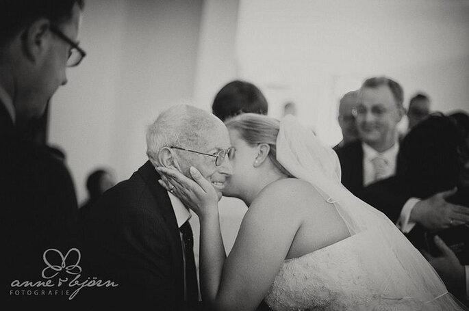 El día de la boda, la vida del padre de la novia cambiará para siempre. Foto: Anne-Kathrin Behnke www.anneundbjoern.com