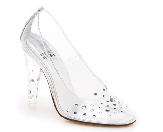 Zapatillas de novia 2014 con incrustaciones de pedrería - Foto Stuart Weitzman