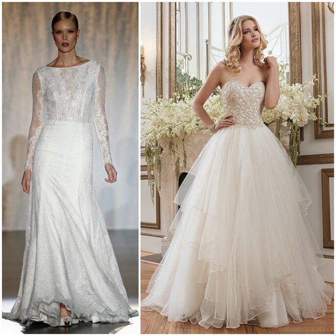 Robes de mariée, Patricia Avendano et Justin Alexander