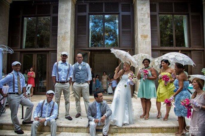 Trabaja en conjunto con tu cortejo y el fotógrafo para que todo salga viento en popa - Foto Arturo Ayala