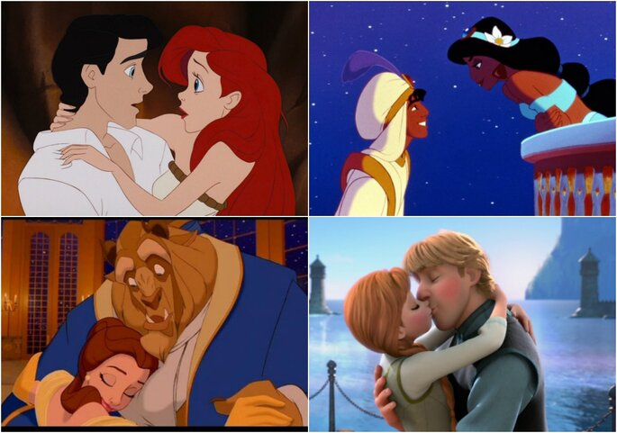 Novios Disney
