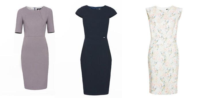 Klasyczne sukienki z kolekcji Simple