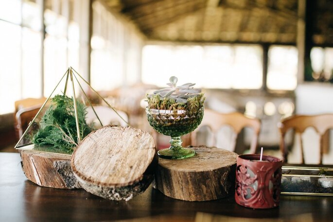 centro de mesa casamento