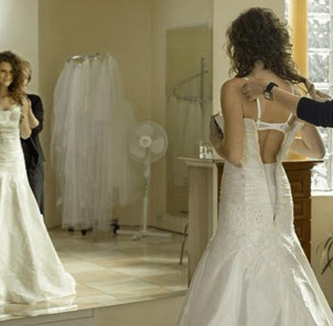 Essayages de robes de mariée : on prend le temps - (C)Marie Claire