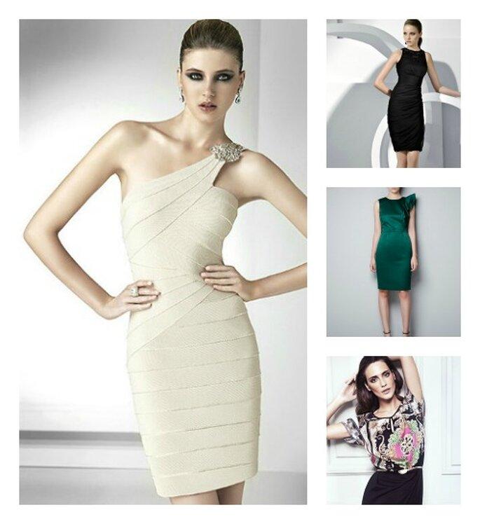 4 stili diverse per le giovani donne. Foto: hm.com oltre.com e pronovias.it