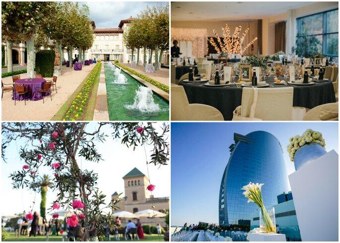 Lugares para bodas en Barcelona