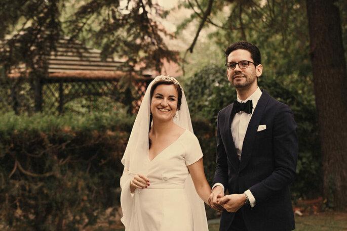 Fotos de pareja en la boda