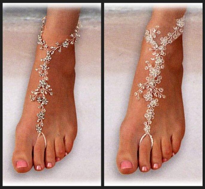 Para unos pies seductores joyas especiales
