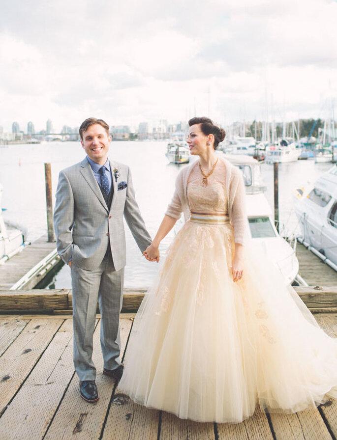 Foto The NickersonsUna boda inspirada en la cultura pop y el estilo vintage - Foto The Nickersons
